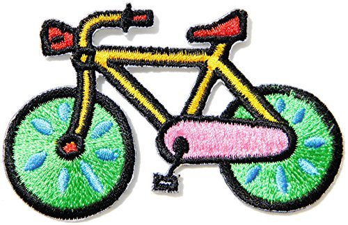 Bicycle BMX Mountain Road Bike Suit Baby Kid Jacket T-shirt Patch Iron on Embroidered Applique Sign Gift Costom -