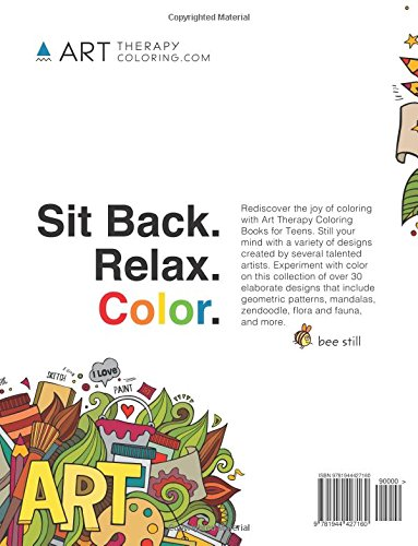 coloring book for teens anti stress designs vol 1 coloring books for teens volume 1 art therapy coloring 9781944427160 amazoncom books - Coloring Books For Teens