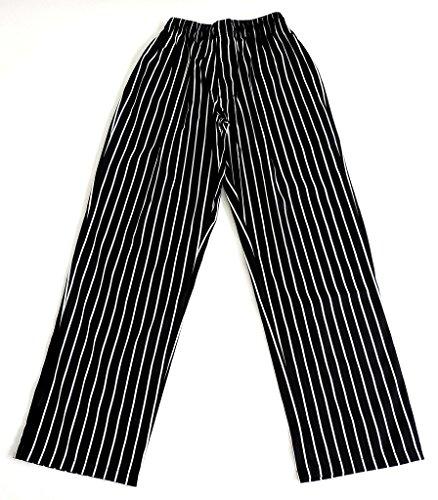 White Baggy Chef Pants - 8