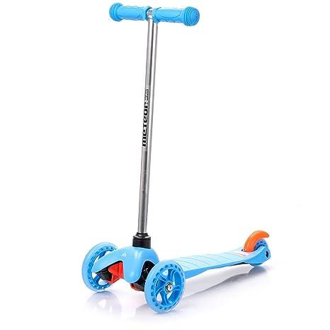 METEOR® TRICYCLE Scooter con 3 ruedas para niños | 120/80 mm ...