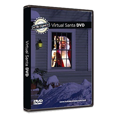 The ORIGINAL Virtual Santa in the Window Movie on DVD -