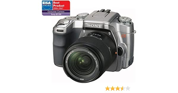 Sony Alpha A100 D - Cámara Réflex Digital 10.2 MP (Objetivo 18-70 ...