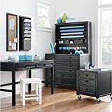 Martha Stewart Living 42 in. W Craft Space 8-Drawer Flat File Cabinet in Silhouette