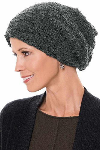 Headcovers Unlimited Reversible Tessa Slouchy Beanie Hat | Slouch Beanies & Caps Tessa - Gray