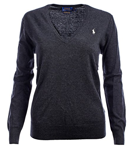 Polo Ralph Lauren Womens Pima Cotton V-Neck Sweater (XL, - Lauren Womens Polo Ralph