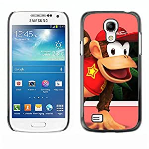 EJOY---Cubierta de la caja de protección la piel dura para el / Samsung Galaxy S4 Mini i9190 / --Burro Rey