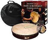 Waltons WMP1900-415 15-Inch Plain Bodhran Pack Classic Brown
