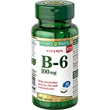 Nature's Bounty B-6 100mg 100 count