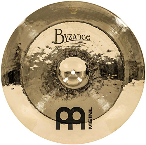 - Meinl Cymbals B18HHCH-B Byzance Brilliant 18-Inch Heavy Hammered China Cymbal (VIDEO)