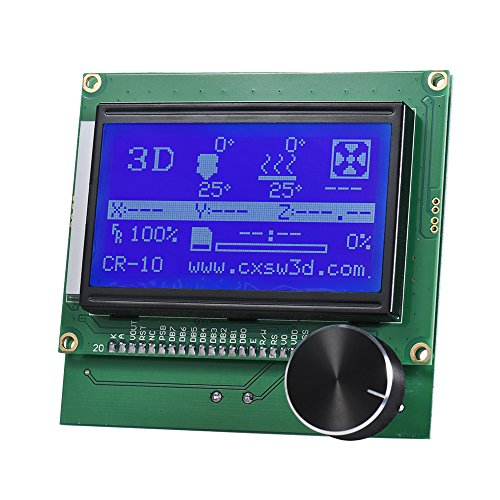 Aibecy 2004 LCD Screen Controller Display with Cable for Reprap Ramps 1.4 3D Printer Kit Accessory for Creality CR-10/10S (Best Lcd Fan Controller)