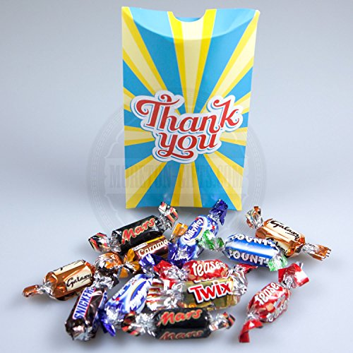 Celebration Chocolates (Mars Celebrations Chocolate Thank You Pouch - By Moreton Gifts)