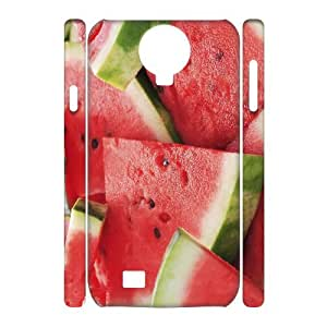 TOSOUL Cell phone Cases Watermelon Hard 3D Case For Samsung Galaxy S4 i9500