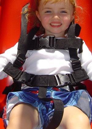 JENNSWING ADA Adaptive Swing Seat - Red