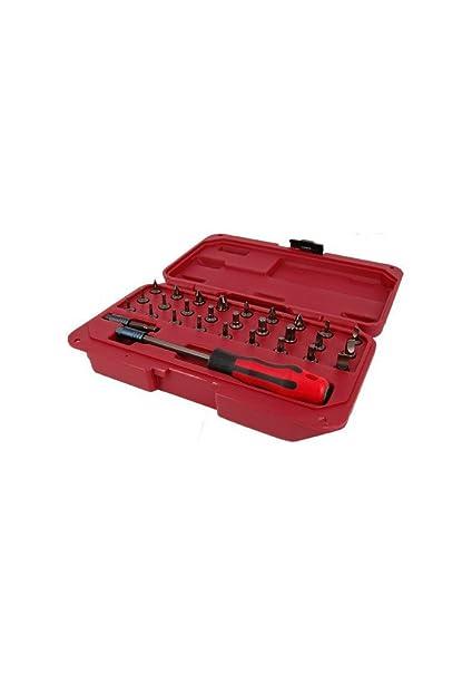 Seneca - Set de 29 pzs con destornillador de puntas intercambiables ...
