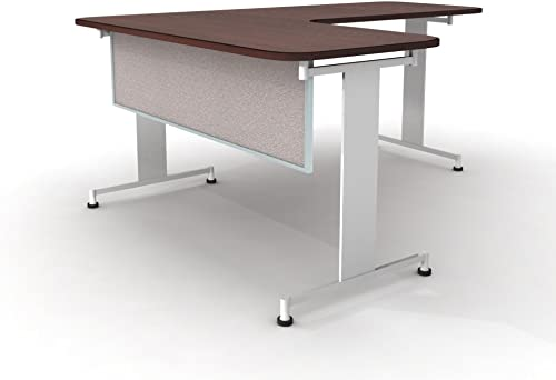 Obex 24″ Acoustical Desk and Table Mounted Modesty Panel