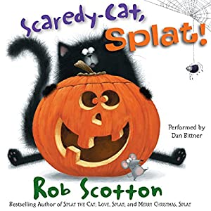Scaredy-Cat, Splat! Audiobook
