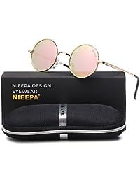 John Lennon Vintage Round Polarized Hippie Sunglasses...