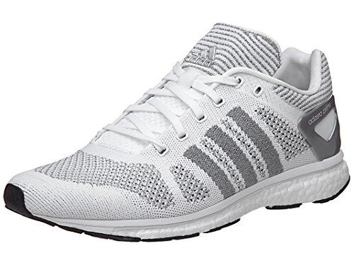 Zapatillas Adidas Para Hombre Adizero Primeknit Ltd # Bb4919 Blanco / Gris