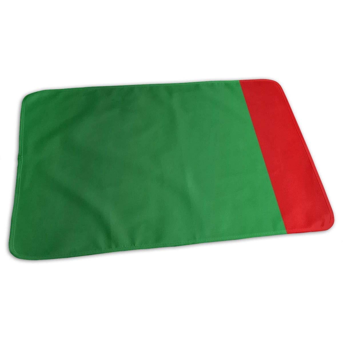 Flag Of Cameroon Baby Portable Reusable Changing Pad Mat 19.7x27.5 inch