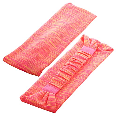6 Pieces Sport Headband Yoga/Cycling/Running /Fitness Exercise Hairband Elastic Sweatband for Unisex by Leoter (Image #5)