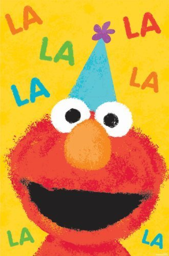 Amscan 1 count Sesame Street 1st Birthday Party Game Poster