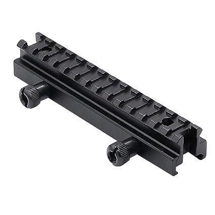 "NEW Scope Mounts 1//2/"" Low Riser 20mm Weaver Picatinny Rifle Short Side Rail"