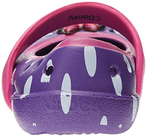 crocs CrocsKeeley Minnie Wohnung Neon Purple/Neon Magenta