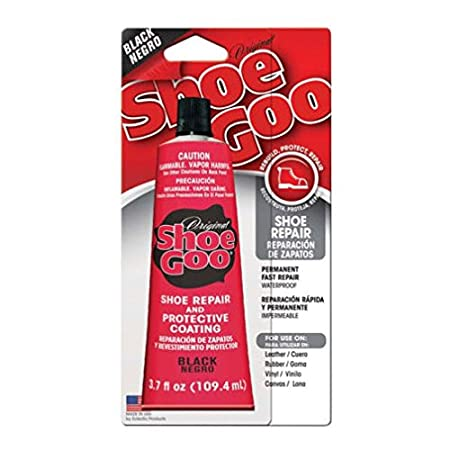 Shoe Goo repair and protective coating