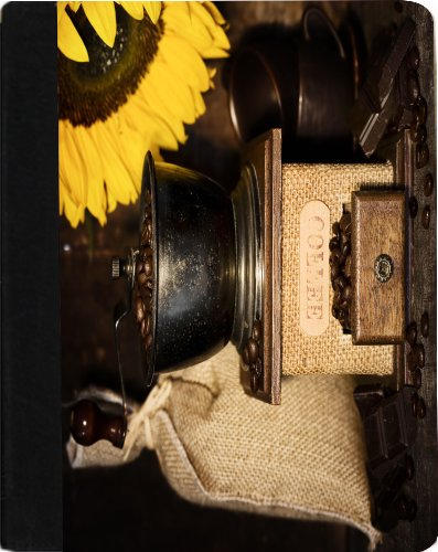 Rikki Knight Still Life With Antique Coffee Grinder And Sunflower Faux Leather Case for Apple iPad Mini (Not for iPad mini 4)