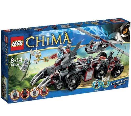 レゴ (LEGO) チーマ ウォリズのコンバットレアー 70009   B00B06VEOY