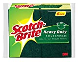 Scotch-Brite 426 Heavy Duty Scrub Sponge, 6-Sponges/Pk, 2-Packs (12 Sponges Total)