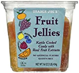 jelly fruit candy - Trader Joe's All Natural Fruit Jellie's - 1 Lb