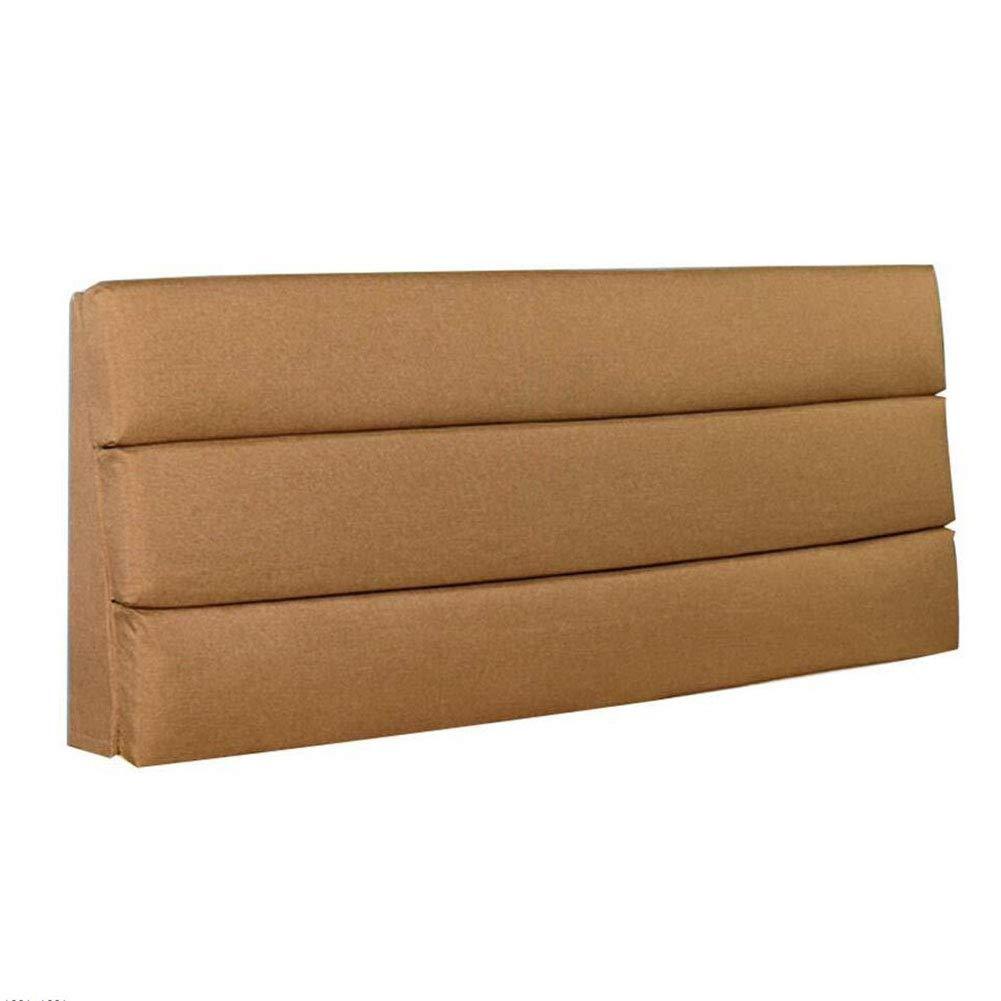 買得 ベッドサイド 臭いがない、9色 クッションベッドの背もたれ ベッドサイドクッション 大型バックパッド インストールが簡単 臭いがない、9色、5つのサイズはオプションです 200x50x6cm) (色 : 黄, サイズ さいず : 200x50x6cm) B07RB3QDYT 90x50x6cm|ブラウン ぶらうん ブラウン ぶらうん 90x50x6cm, ペットグッズショップ橋本:277796cc --- leadjob.us