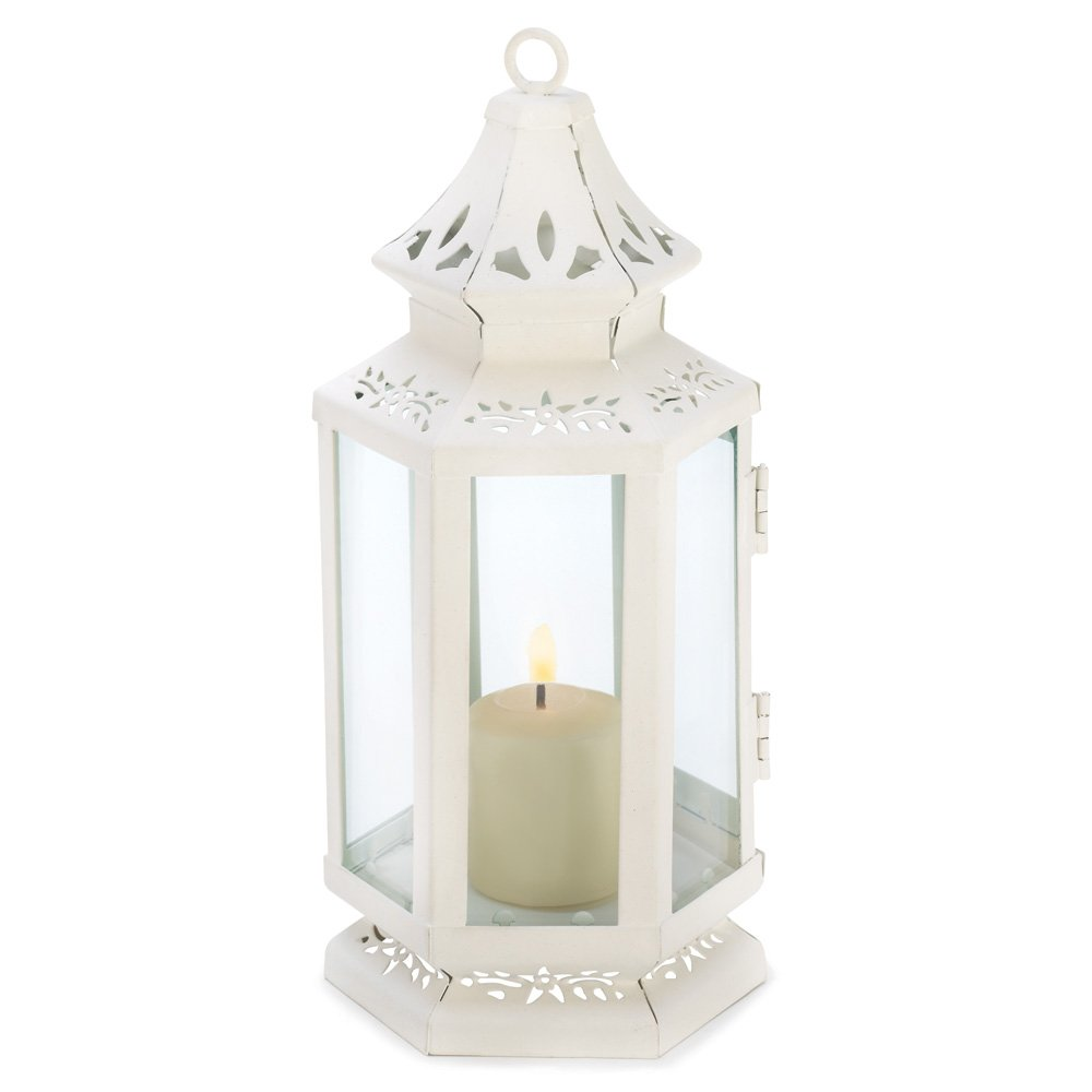 10 Wholesale Small Victorian Lantern Wedding Centerpieces by Tom & Co.