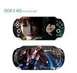 Skin Decal Sticker For PS VITA 2000 Series Pop Skin-Dead Or Alive #02+Screen Protector+Offer Wallpaper Image