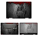 decalrus - Protective Decal Metal Skin Sticker for Dell Inspiron i7586 / 7586 (15.6'' Screen) case Cover wrap DEinspiron15_I7586-112