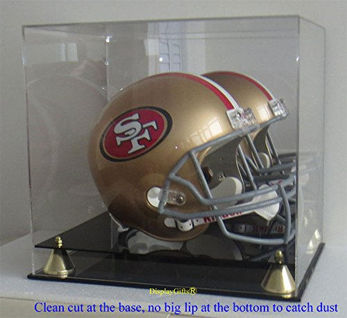mirrored football display case - 1