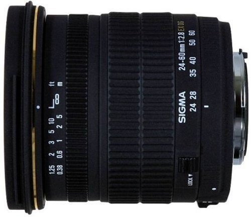 Sigma 24-60mm f/2 8 EX DG IF Aspherical Wide Angle Zoom Lens for Canon SLR Camerasの商品画像