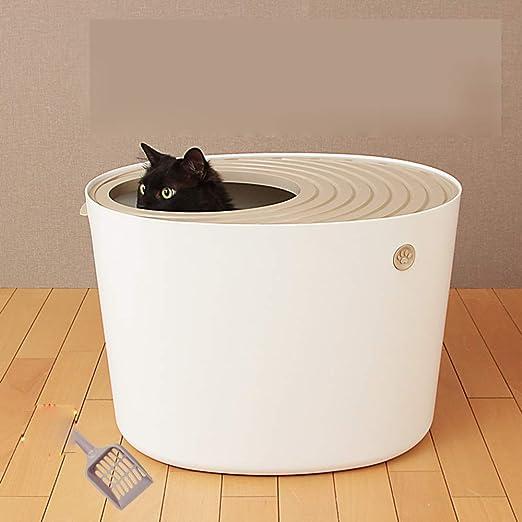 Entrada Superior Caja De Arena Para Gatos Con Cucharada De Arena ...