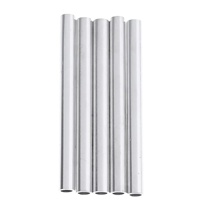 5 x Lightweight Aluminium Replacement Spare Tent Pole End Plugs for 7.9mm 8.5mm