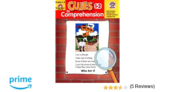 Amazon.com: Clues to Comprehension, Grades 1-2 (Building Spelling ...