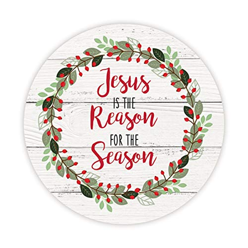 Jesus is The Reason for The Season Christmas Car Magnet, 6 Inch]()