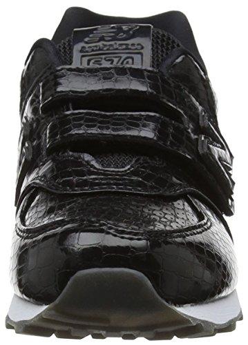 New Balance Yv574v1, Zapatillas Unisex Niños Negro (Black)
