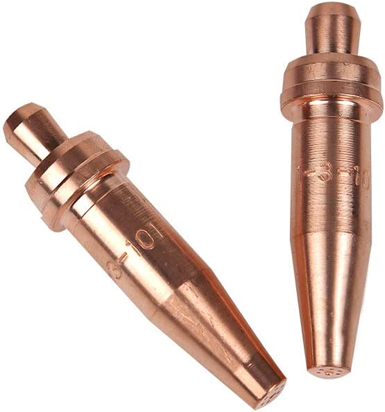 Torch Tips Acetylene Cutting 3-101 Size 1 for Victor Style Torch Consumables Accessories 2pk