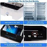 COSTWAY Evaporative Cooler, 3-in-1 Portable Air