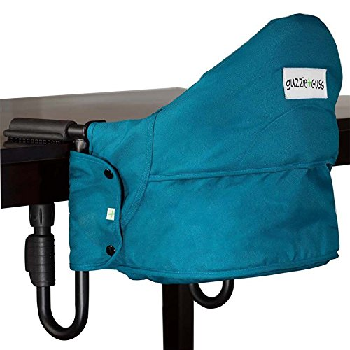 guzzie+Guss Perch Hanging Highchair Aqua Guzzie + Guss