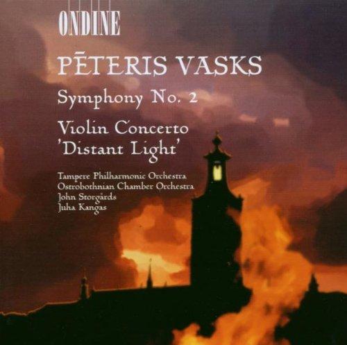 Vasks, Peteris: Symphony no. 2 - Kansikuva