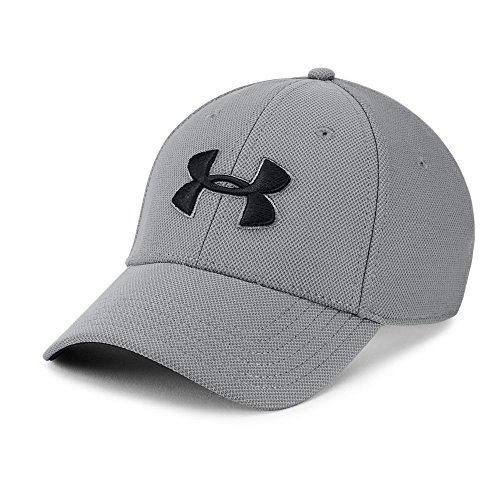 Under Armour mens Blitzing 3.0 Cap, Graphite (040)/Black, X-Large/XX-Large