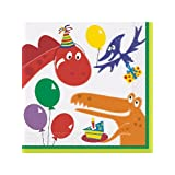 Dinosaur Birthday Luncheon Napkins (16-pack)