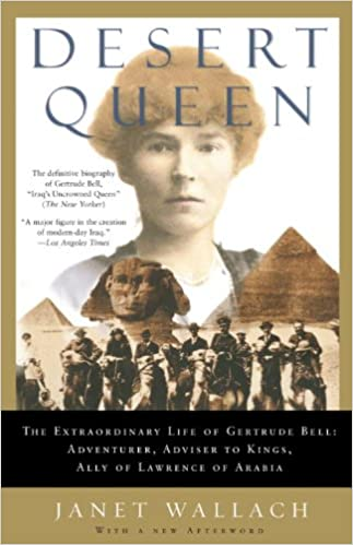 Cover of Desert Queen by Janet Wallach